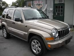 used 2006 jeep liberty limited 4wd 4x4 loaded leather sunroof heated seats chrome
