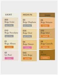 Lancome Foundation Color Chart Admirable Lan E Teint Idole