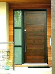 wooden front doors with side panels exterior modern doors front door glass cover modern doors exterior