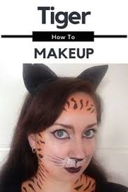 tiger makeup tutorial outfit 2016 you festivities tiger makeup 2016 and tigers