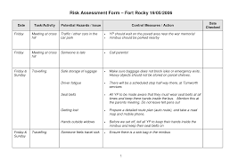 27 Images Of Sample Ach Risks Assessments Template | Leseriail.com