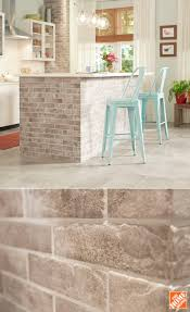 MS International Abbey Brick 2-1/3 in. x 10 in. Glazed Porcelain Floor and  Wall Tile (5.17 sq. ft. / case)