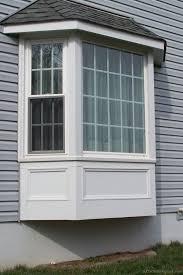 Bay Window Exterior Pictures Minimalist Interior