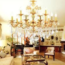 antique gold chandelier cafe gold chandelier crystal lighting arm home vintage led chandelier hotel dining room retro indoor light led in chandeliers from