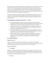sample resume best administrative assistant resume objective advertising assistant resume