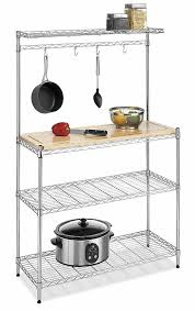 details about 3 shelf shelving home kitchen room design rack cookware chrome plated steel