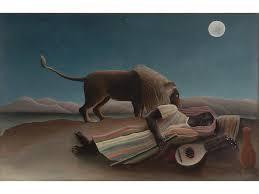 henri rousseau the sleeping gypsy 1897
