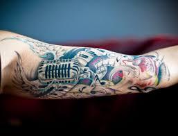 музыкальные татуировки 100 эскизов и идей татуировок на тему музыки