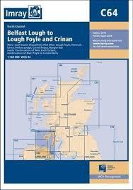 Imray Chart 100 Imray Chart C64 North Channel Belfast Lough To Lough