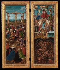 the crucifixion the last judgment