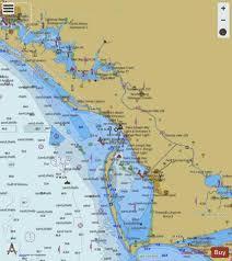 Lake Wimico To East Bay Side A And B Marine Chart