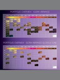 Igora Vibrance Shade Chart Igora Vibrance Colour Chart In 2019 Schwarzkopf Hair Color