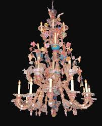 this large rare outstanding antique venetian murano chandelier is truly stunning measuring 73 inches high and 48 inches wide it is massive and sure to