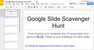 Venn Diagram In Google Slides Google Slide Scavenger Hunt