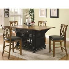 Kitchen Island Outlet Coaster 102270 Black Wood Kitchen Island Steal A Sofa Furniture