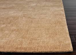 re collection bamboo silk area rug in warm taupe design by 1 si