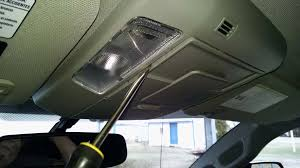 2015 overhead console short wiring change tundratalk net i was trying to tap into a switched 12v to run a dashcam gaining access pictured for those who might want to try gently pry the center cover off