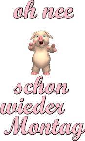 Asciibilder Animschönen Wochenstart Montag Montag Sprüche