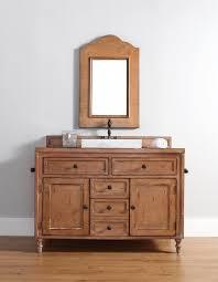 48 inch single sink bathroom vanity in driftwood patina