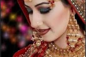 dulhan dresses facebook fashion week collections stani bridal makeup indian