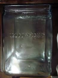 embossed glass delco light exide aqua glass battery jar