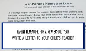 letter from teacher to parents a letter to a new teacher of your child planet smarty pants