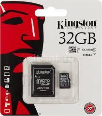 Купить <b>Карта памяти</b> microSDHC <b>KINGSTON</b> 32 ГБ в интернет ...