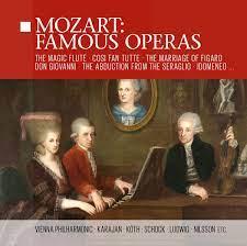 Mozart: Famous Operas - Erika Köth, Rudolf Schock, Christa Ludwig, Wolfgang  Amadeus Mozart, Herbert von Karajan, Wiener Philharmoniker: Amazon.de: Musik