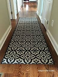new hall runner an indoor outdoor rug with a tile look carpet