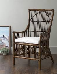 i think that this cool rattan chair would be wonderful