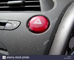 Triangle Warning Light Honda Red Hazard Warning Light Button On Dashboard Of Honda Civic
