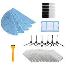 Vacuum Robot Cleaner Parts <b>Side Brush Primary Dust</b> Filter Mop ...