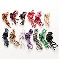 Мульти цвет хлопок воском круглый шнур <b>строки платье</b> обуви ...