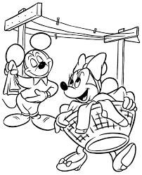 Free Printable Minnie Mouse Coloring Pages For Kids Ruva