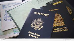 Footage 1261090 Video Documents Passports And Stock Travel