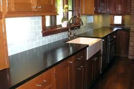 backsplash with black granite enchanting kitchen