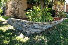 rock retaining wall exotic rock retaining wall stacked rock retaining wall fresh look outdoors plant ideas