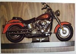 Motorcycle Display Stand Vintage PHOTO Of A Custom Harley Davidson Motorcycle On Display 13