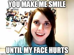 creepy smile - Imgflip via Relatably.com