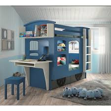 Kids wagon bunk bed with drawers | Train bed, Kid and Cool kids