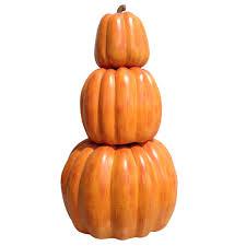 h harvest stackable pumpkins