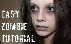 easy zombie makeup tutorial makeup project