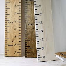 Wall Ruler Height Chart Objects Of Design 190 Wooden Ruler Height Chart Mad