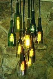 wine bottle chandelier kit light appealing lamp fixture diy ful