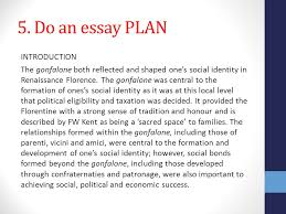 unit area of study social life in renaissance florence ppt do an essay plan