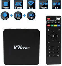 V96 PRO Smart TV Box S905W HD 4K Network Player Media Player EU/UK Plug  price from jollychic in Saudi Arabia - Yaoota!