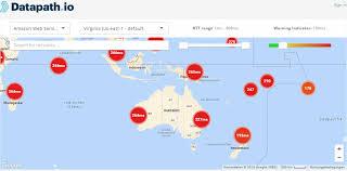 Aws Network Latency Map Measure Worldwide Latency