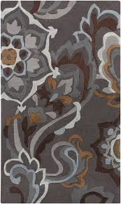 surya cosmopolitan cos 9210 pewter slate blue area rug contemporary area rugs by arearugs