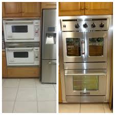 Gas Double Oven Wall Gas Range With Double Oven Home Appliances Decoration