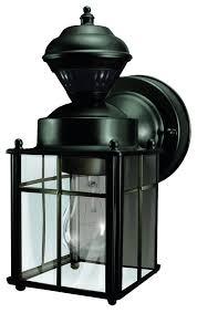 heath zenith sl 4132 bk bayside 1 light 150 degree bayside motion sensing decorative outdoor wall lightingoutdoor